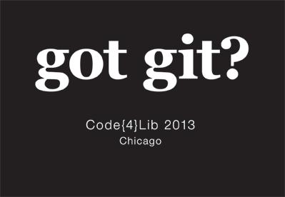 Got git?